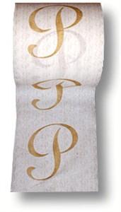Monogrammed Toilet Tissue 4 Rolls