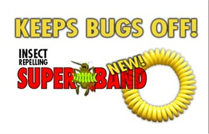 SuperBand Insect Repeller