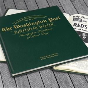 The Washington Post Birthday Newspaper