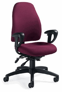 Global 4432 Obusforme Low Back Office Chair