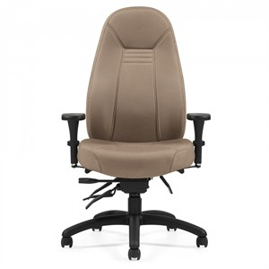 Global 4432 Obusforme Low Back Multi-Tilter Office Chair