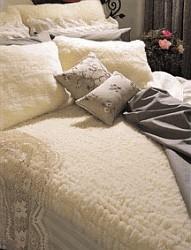 Snugfleece King Size Wool Pillow Sham Set