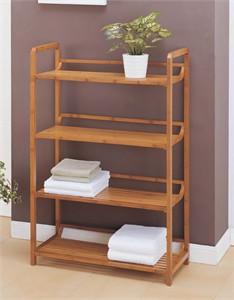 OIA 29944 Four Tier Bamboo Shelf