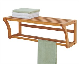 OIA 29947 Bamboo Towel Shelf