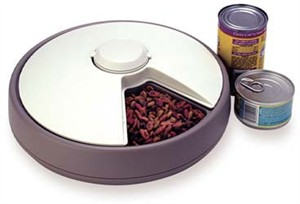 Automatic Pet Dish PD06 : 6 Meal Pet Feeder
