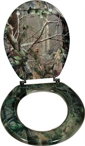 Toilet Seat for the Outdoor Enthusiast