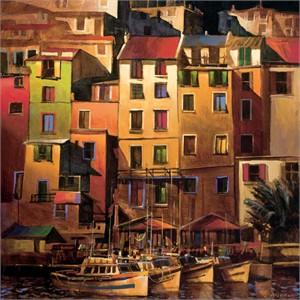 Mediterranean Gold : WeatherPrint Art for Outdoors