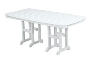 "POLYWOOD NCT3772 Nautical 37"" x 72"" Dining Table"