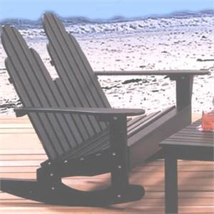 Adirondack Furniture : Settee Rocker