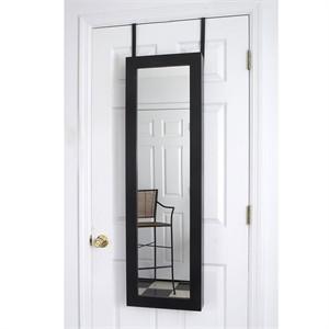 Over the Door Jewelry Valet Mirror