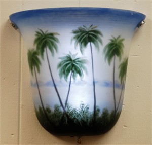 Exciting Lighting AMBP101 Palm Tree Sconce Light