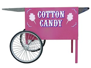 Paragon Deep Well Cotton Candy Cart
