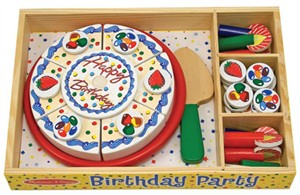 Birthday Party Play Set for Kids