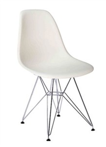 Classic Sculpted White ABS Chairs