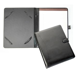 Personalized Leather iPad Folio