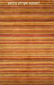 Trans Ocean Petra Stripe Wool Area Rug