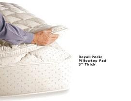 """Royal Pedic Pillowtop Pad 3"""""""