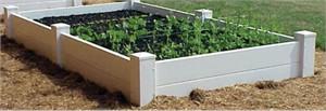 Dura-Trel Maintenance Free Raised Planter Bed