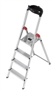 Four Step Aluminum Stepladder