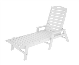 POLYWOOD NCC2280 Nautical Chaise with Arms