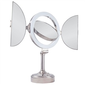 Zadro SLVT710 Natural Sunlight 10X Magnification Mirror