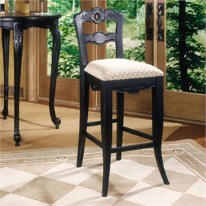 Powell 896-432 Hills of Provence Bar Stool