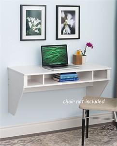 Prepac WEHW-0500-1 Designer Floating Wall Mount Desk