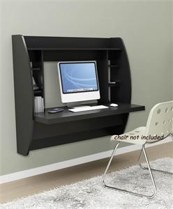 Prepac BEHW-0200-1 Wall Mount Desk with Storage