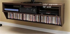 Prepac BCAW-0507 Wall Mount Entertainment Console