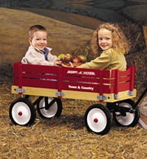 Radio Flyer 24 Town and Country Wagon
