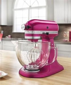 KitchenAid KSM155GBRI Raspberry Ice Stand Mixer