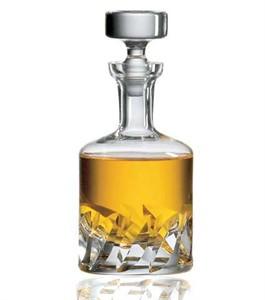 Ravenscroft Crystal Beveled Blade liquor decanter
