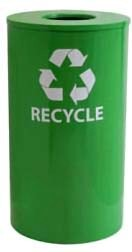 Commercial Recycling Receptacle Green