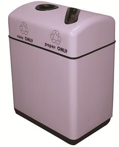 Fiberglass Recycling Bin : 2 Streams