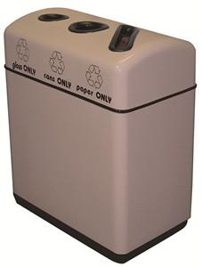 Fiberglass Recycling Bin : 3 Streams