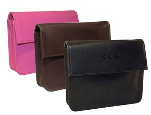 Monogrammed RFID Blocking Executive Leather Wallet