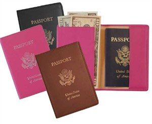Personalized RFID Blocking Passport Jacket