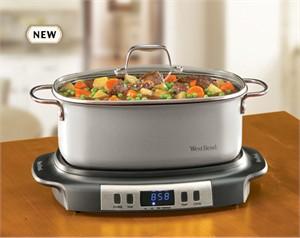 West Bend 84966 Versatility Slow Cooker