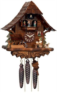 River City MD462-14 Musical Beer Drinker 1 Day Cuckoo Clock