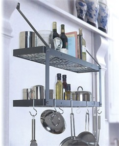 Rogar Double Bookshelf Pot Rack : Rogar series 8500