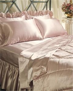 Satin Bedskirt - Dust Ruffle