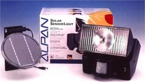 Outdoor Security Light : Solar Powered Alpan Outdoor Sensor Light