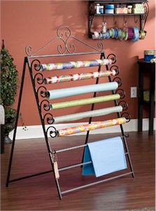 Holly & Martin 25-096-054-5-01 Wrapping Paper Storage Rack