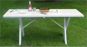 Dura Trel 11135 Outdoor Service Table