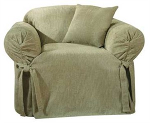 Surefit Hobnail Chenille Chair Slipcover