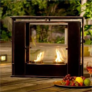 Holly & Martin 37-249-035-4-01 Indoor Outdoor Gel Fireplace