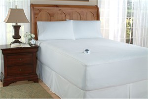 Softheat low voltage electric mattress pad with microplush top