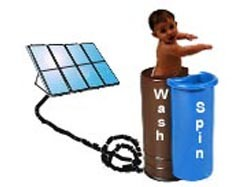 Solar Powered Automatic Baby Washer