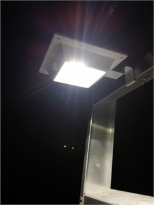 Rectangular Solar Gutter Lights