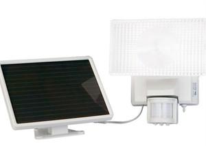 Maxsa 40110 Solar 30 Watt Halogen Security Floodlight